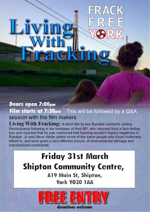 Fracking meeting - Mar17